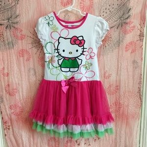 97d9c0702 Hello Kitty Dresses | Princess By Chambray Dress | Poshmark